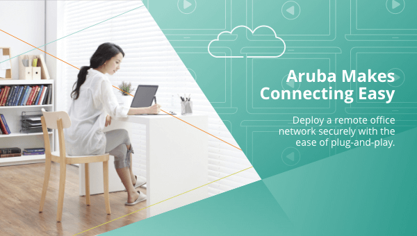 Work From Home and Stay Productive. Aruba makes #WFH easy