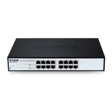 D-Link 16-port 10/100Mbps EasySmart switch, DES-1100-16