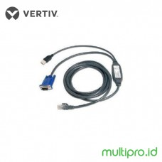 Vertiv KVM USBIAC-10 Integrated Acces Cable Cat5 - USB, 10 ft