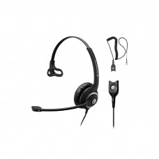 Sennheiser Call Center SC 230 Headset, monaural, with ED, for wideband and narrowband phones,5504401