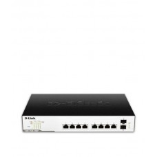 D-Link 10-Port Layer 2 Lite Smart Managed Gigabit PoE Switch, DGS-1100-10MP