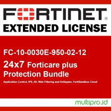 Fortigate FC-10-0030E-950-02-12 FORTISUBSCRIPTION 24x7 FortiCare plus Application Control, IPS, AV, Web Filtering and Antispam, FortiSandbox Cloud