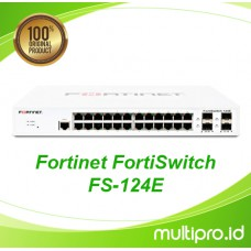 Fortinet FortiSwitch FS-124E, FC-10-WP12E-247-02-12