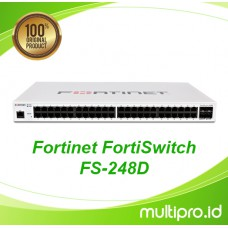 Fortinet FortiSwitch FS-248D, FC-10-W248D-247-02-12