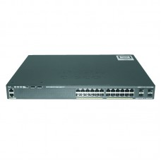 Cisco Catalyst 2960-X 24 GigE PoE 370W, 4 x 1G SFP, LAN Base,WS-C2960X-24PS-L