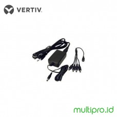 Vertiv KVM UPD-202 Power Supply, Power Cord and 4 output cable to support up to 4 AVRIQ-SRL modules