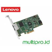 Lenovo ThinkServer I350-T2 PCIe 1Gb 2 Port Base-T Ethernet Adapter by Intel ( 4XC0F28730 )