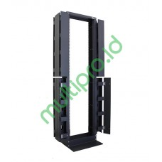 """OE42-B, 19"""" Open Entry Rack 42U High Density with Cable Duct"""