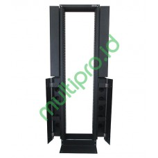 """OE45-B, 19"""" Open Entry Rack 42U High Density with Cable Duct"""