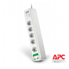 PM5U-GR APC Essential SurgeArrest 5 outlets with 5V, 2.4A 2 port USB charger 230V Germany