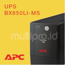 APC BX650LI-MS, Back-UPS,325 Watts / 650 VA Line Interactive