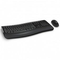 Microsoft Wireless Comfort Desktop 5050 with AES USB Port Eng Intl ROW Hdwr CD ( PP4-00020 )