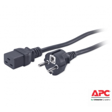 Kabel Power AP9875, APC C19 to CEE/7 Schuko, 2.5m