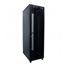 "PRO11520, INDORACK Standing Heavy Duty Close Rack 19"" 20U depth 1150mm Perforated Door"