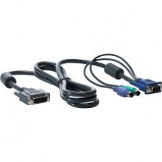 HP 1x4 KVM Console 6ft PS2 Cable ( AF612A )