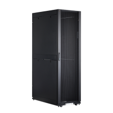 Vertiv S27-81245 S27-Series Rack-45Ux800Wx1200D with Side panels, RAL900S Black