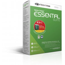 Tech Titan Essential Suite 3 User (2017) 4 in 1